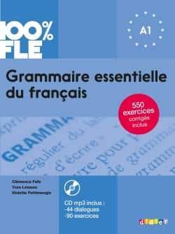 خرید کتاب فرانسه Grammaire essentielle du français niv. A1 - Livre + CD