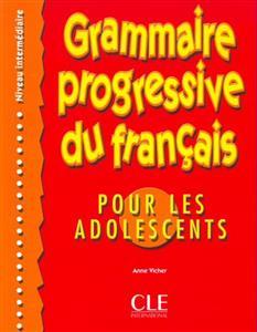 خرید کتاب فرانسه Grammaire progressive - adolescents - intermediaire