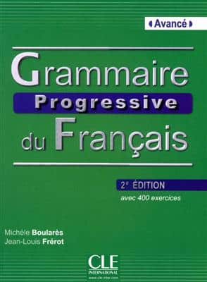 خرید کتاب فرانسه Grammaire progressive - avance + CD - 2eme edition