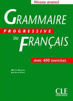 خرید کتاب فرانسه Grammaire progressive - avance