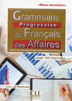 خرید کتاب فرانسه Grammaire progressive des affaires - intermediaire + CD