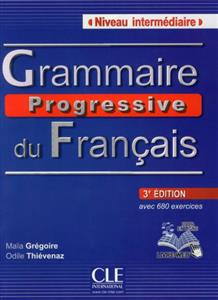 خرید کتاب فرانسه Grammaire progressive - intermediaire + CD - 3eme edition