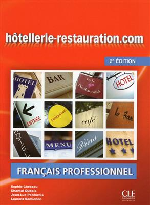 خرید کتاب فرانسه Hotellerie-restauration.com + DVD -2eme edition