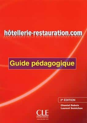 خرید کتاب فرانسه Hotellerie-restauration.com - Guide pedagogique - 2eme edition