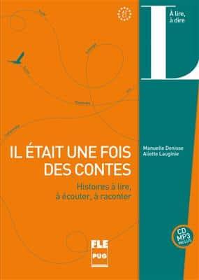 خرید کتاب فرانسه IL ÉTAIT UNE FOIS DES CONTES (CD INCLUS) - A2-C1