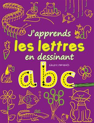 خرید کتاب فرانسه J'apprends les lettres en dessinant : abc