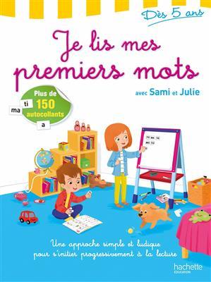 خرید کتاب فرانسه Je lis mes premiers mots avec Sami et Julie