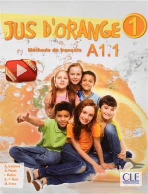 خرید کتاب فرانسه Jus d'orange 1 - Niveau A1.1