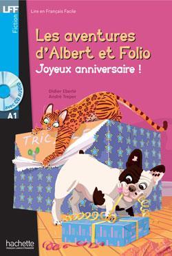 خرید کتاب فرانسه LFF Albert et Folio : Joyeux anniversaire ! (A1)