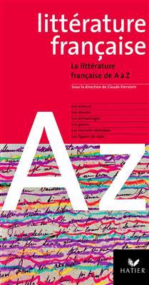 خرید کتاب فرانسه La littérature française de A à Z