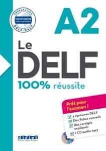 خرید کتاب فرانسه Le DELF - 100% réusSite - A2 + CD