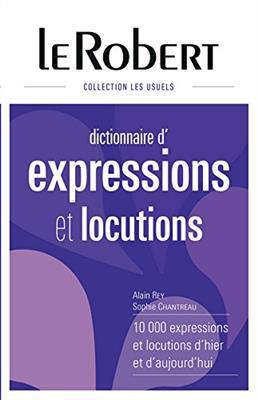 خرید کتاب فرانسه Le Robert Dictionnaire d'expressions et locutions