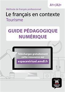 خرید کتاب فرانسه Le français en contexte Tourisme – Guide pedagogique