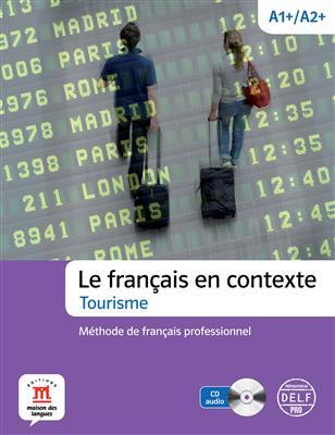 خرید کتاب فرانسه Le français en contexte Tourisme + CD