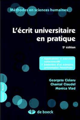 خرید کتاب فرانسه L'ecrit universitaire en pratique