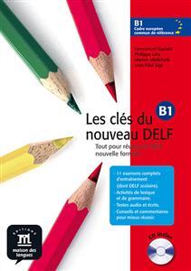 خرید کتاب فرانسه Les cles du nouveau DELF b1 + CD audio