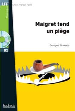 خرید کتاب فرانسه Maigret tend un piège + CD MP3 (B2)
