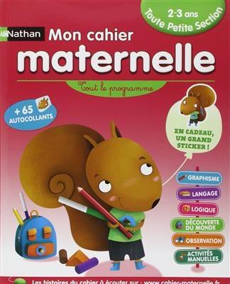 خرید کتاب فرانسه Mon cahier maternelle 2/3 ans