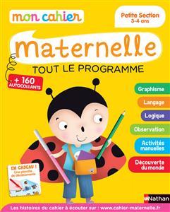خرید کتاب فرانسه Mon cahier maternelle 3/4 ans