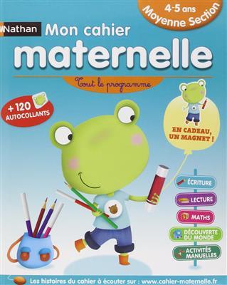 خرید کتاب فرانسه Mon cahier maternelle 4/5 ans