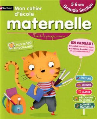 خرید کتاب فرانسه Mon cahier maternelle 5/6 ans