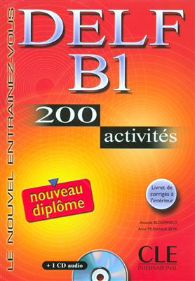 خرید کتاب فرانسه Nouveau DELF - Niveau B1 - Livre + CD audio