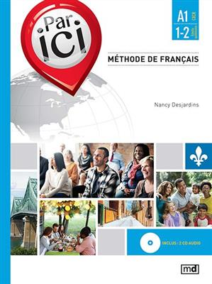 خرید کتاب فرانسه PAR ICI – NIVEAU A1 / 1‑2 + CD