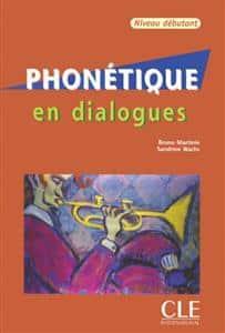 خرید کتاب فرانسه Phonetique en dialogues - debutant + CD