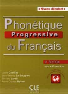 خرید کتاب فرانسه Phonetique progressive du français - debutant + CD - 2eme edition