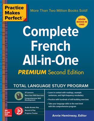 خرید کتاب فرانسه Practice Makes Perfect: Complete French All-in-One