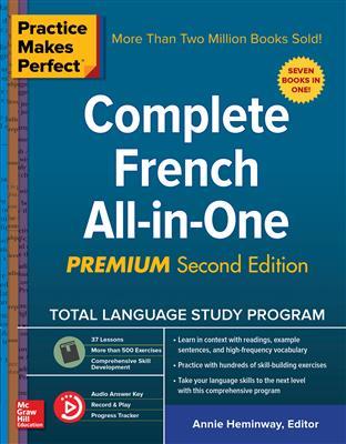 خرید کتاب فرانسه Practice Makes Perfect: Complete French All-in-One