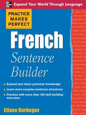 خرید کتاب فرانسه Practice Makes Perfect French Sentence Builder