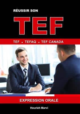 خرید کتاب فرانسه RÉUSSIR SON TEF TEFAQ TEF CANADA EXPRESSION ORALE