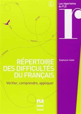 خرید کتاب فرانسه Repertoire des difficultes du francais