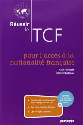 خرید کتاب فرانسه Reussir le TCF pour l'acces a la nationalite francaise