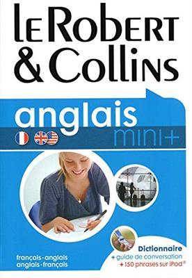 خرید کتاب فرانسه Robert & Collins Mini Plus anglais (francais - anglais/anglais - francais)