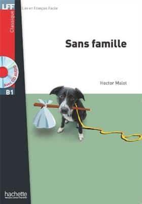 خرید کتاب فرانسه Sans famille + CD audio MP3 (B1)