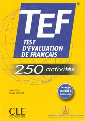 خرید کتاب فرانسه TEF 250 activites
