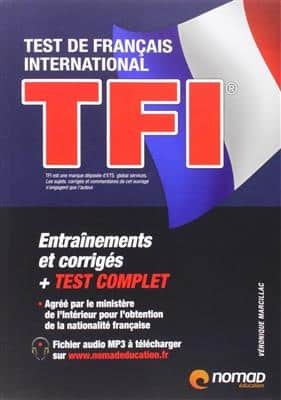 خرید کتاب فرانسه TFI test de français international - Preparation complete