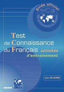خرید کتاب فرانسه Test de connaissance du Français (TCF) - Livre + CD audio