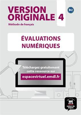 خرید کتاب فرانسه Version Originale 4 – Evaluations + CD