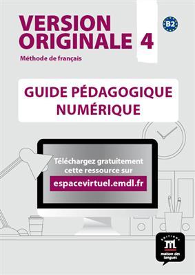 خرید کتاب فرانسه Version Originale 4 – Guide pedagogique