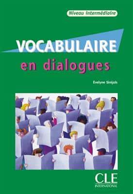 خرید کتاب فرانسه Vocabulaire en dialogues - intermediaire + CD