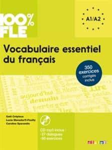 خرید کتاب فرانسه Vocabulaire essentiel du français niv. A1 -A2 + CD 100% FLE