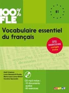 خرید کتاب فرانسه Vocabulaire essentiel du français niv. B1 + CD 100% FLE