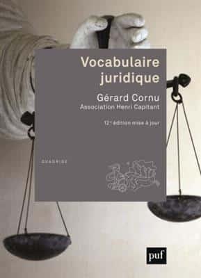 خرید کتاب فرانسه Vocabulaire juridique 12 edition