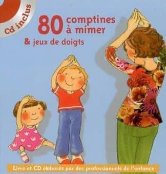 خرید کتاب فرانسه comptines a mimer et jeux de doigts 80