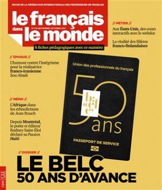 خرید Le Francais dans le monde - N413 - septembre - octobre 2017