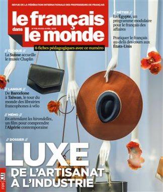 خرید Le français dans le monde n°416 : Luxe