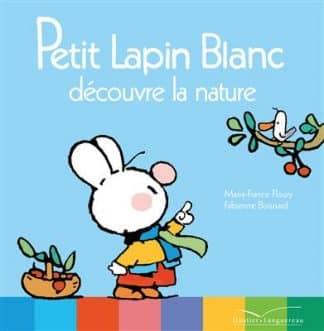 خرید کتاب فرانسه Petit Lapin Blanc découvre la nature